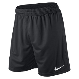 NIKE Herren kurze Hose Park II Knit Shorts No Brief, Black/White, M, 448224-010 - 1