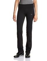 PUMA Damen Hose WT Essentials Straight Leg Pants, Black, M, 512809 01 - 1