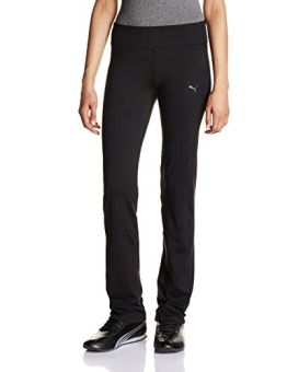 PUMA Damen Hose WT Essentials Straight Leg Pants, Black, M, 512809 01 - 1